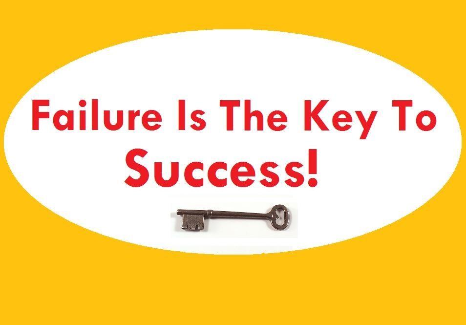 failure is key to success essay